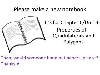 Please make a new notebook