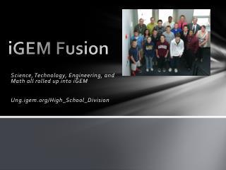 iGEM  Fusion