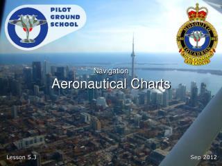 Navigation Aeronautical Charts