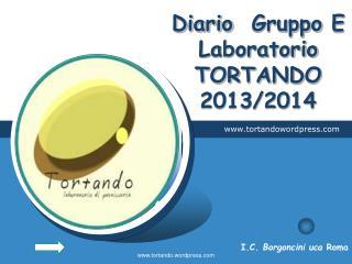 Diario Gruppo  E  Laboratorio TORTANDO 2013/2014