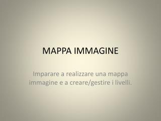MAPPA IMMAGINE
