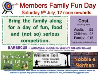 Members Family Fun Day