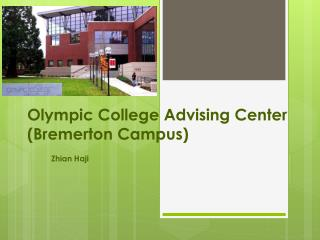 Olympic College Advising Center (Bremerton Campus)