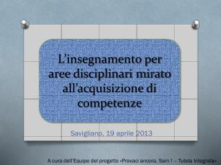 Savigliano, 19 aprile 2013
