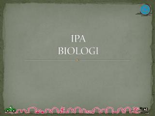 IPA BIOLOGI