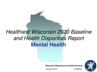 Healthiest Wisconsin 2020 Baseline and Health Disparities Report Mental Health