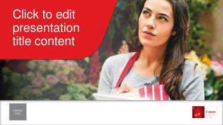Click to edit presentation  title content