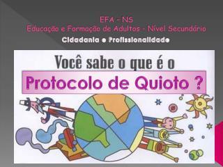 EFA – NS Educação e Formação de Adultos – Nível Secundário