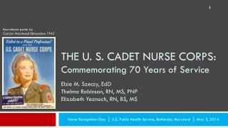 Nurse  Recognition  Day  |  U.S . Public Health Service, Bethesda,  Maryland  |  May  5, 2014