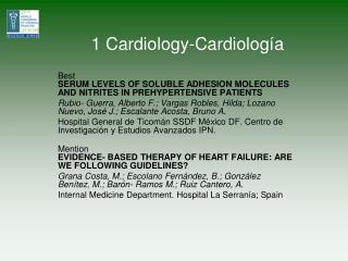 1 Cardiology-Cardiolog