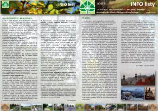 SPOLOČNOSŤ  PRE ZÁHRADNÚ  A   KRAJINNÚ  TVORBU Association for Garden Design  and  Landscaping