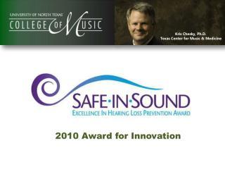 Kris Chesky, Ph.D. Texas Center for Music & Medicine