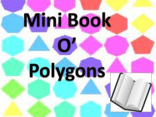 Mini Book O' Polygons
