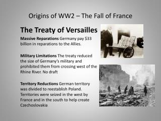 Origins of WW2 – The Fall of France