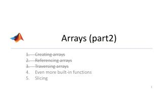 Arrays (part2)