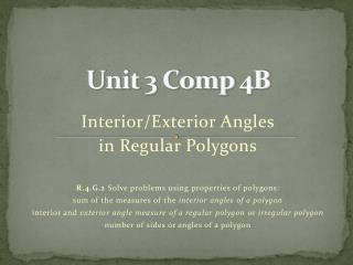 Unit 3 Comp 4B