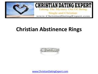 Christian Abstinence Rings