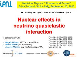 Nuclear effects  in neutrino  quasielastic  interaction