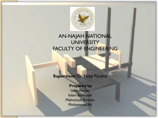 AN-NAJAH NATIONAL UNIVERSITY FACULTY OF ENGINEERING