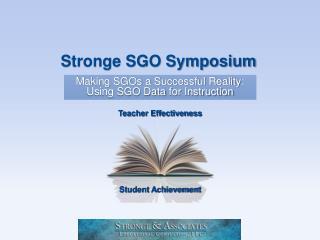 Stronge SGO Symposium