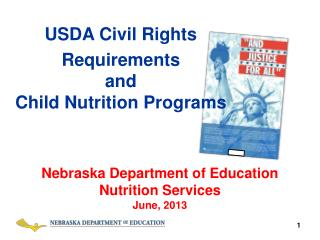 USDA Civil Rights Requirements  and  Child  Nutrition Programs