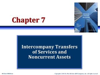 Intercompany Transfers of Services and Noncurrent Assets