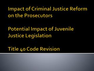 House Bill 1176 Special Council on Criminal Justice Reform for Georgians
