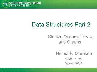 Data Structures Part 2