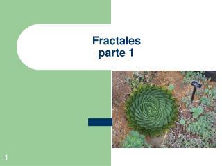 Fractales parte 1