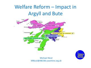 Welfare Reform – Impact in Argyll and Bute