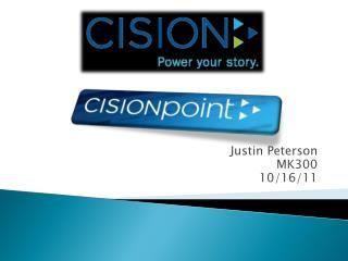 Justin Peterson MK300 10/16/11