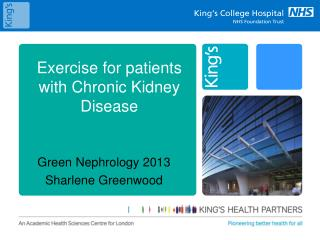 Exercise for patients with Chronic Kidney Disease