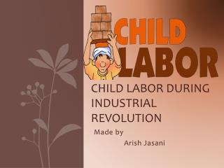 Child labor during industrial revolution