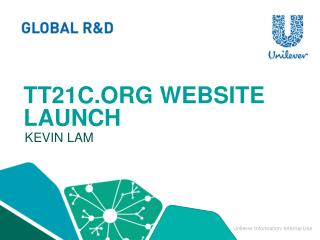 Tt21c.org website launch