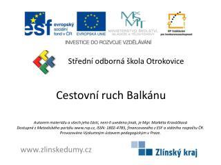 Cestovní ruch Balkánu