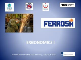 ERGONOMICS  I