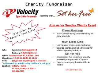 Charity Fundraiser