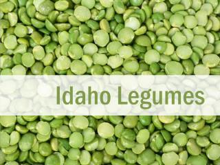 Idaho  Legumes