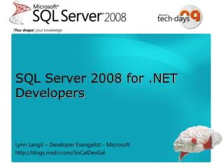 SQL Server 2008 for .NET Developers