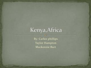 Kenya,Africa