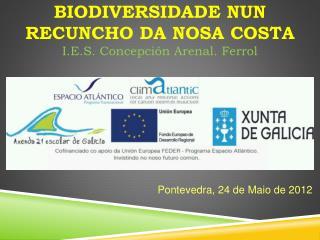 BIODIVERSIDADE NUN RECUNCHO DA NOSA COSTA I.E.S.  C oncepción Arenal. Ferrol