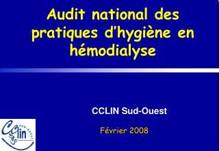 Audit national des pratiques d