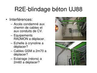 R2E-blindage béton UJ88