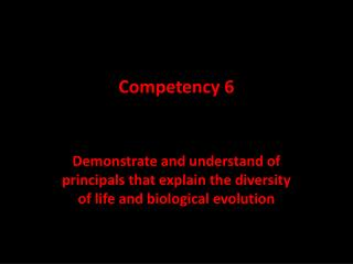 Competency 6