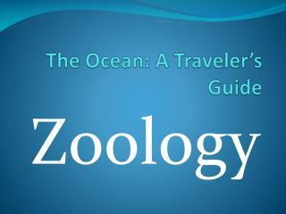 The Ocean: A Traveler's Guide