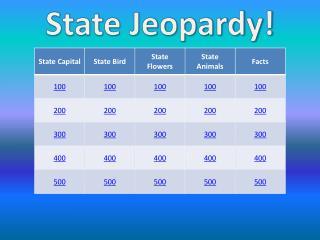 State Jeopardy!