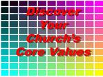 Church Core Values