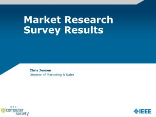 Market Research Survey Results