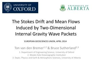 The Stokes Drift  and Mean Flows Induced by Two-Dimensional Internal Gravity Wave Packets