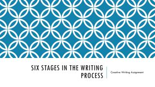 Six Stages in the Writing Process